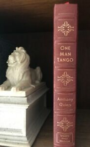 EASTON PRESS Anthony Quinn ONE MAN TANGO Leather SIGNED FIRST EDITION