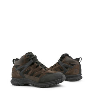 Timberland-Bottines-Sadlerpass-TB0A1KFPD40-Dkbrown-Homme-Noir-Cuir-Chaussures