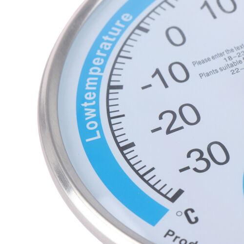 Round Household Analog Thermometer Hygrometer Humidity Monitor Meter Ga xh