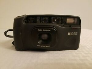 Ricoh-shotmaster-tru-zoom-35mm-CAMERA-date-tested-with-new-battery-f-38-90-mm