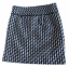 miniature 2 - Ann Taylor LOFT Black White Houndstooth Woven Mini Skirt Size 0 Fully Lined