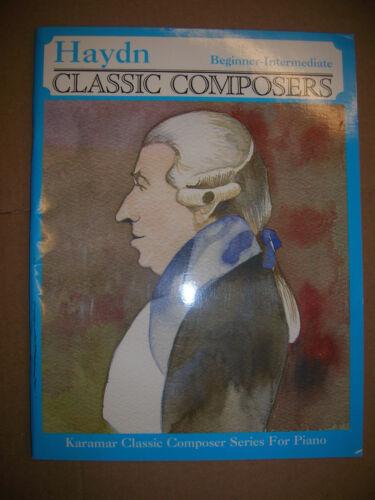 Hayden ~ Beginner to Intermediate Piano Solos Classical Music