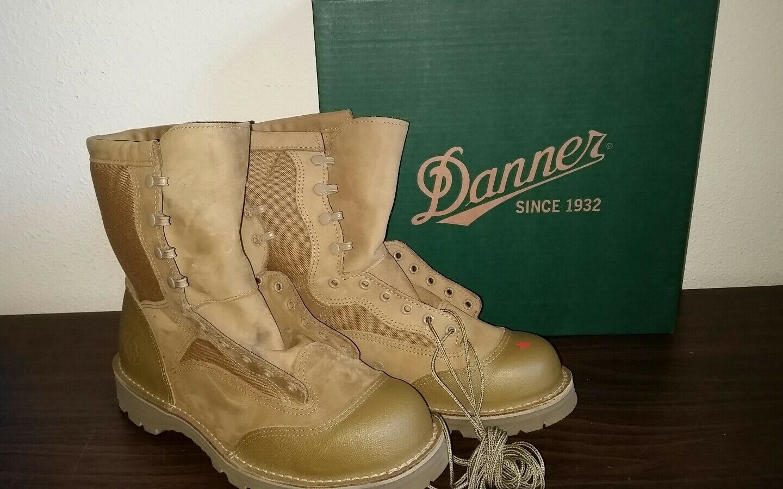 Danner USMC Rat Hot 8  Mojave botas USA nuevo en caja militar 2nds 15676