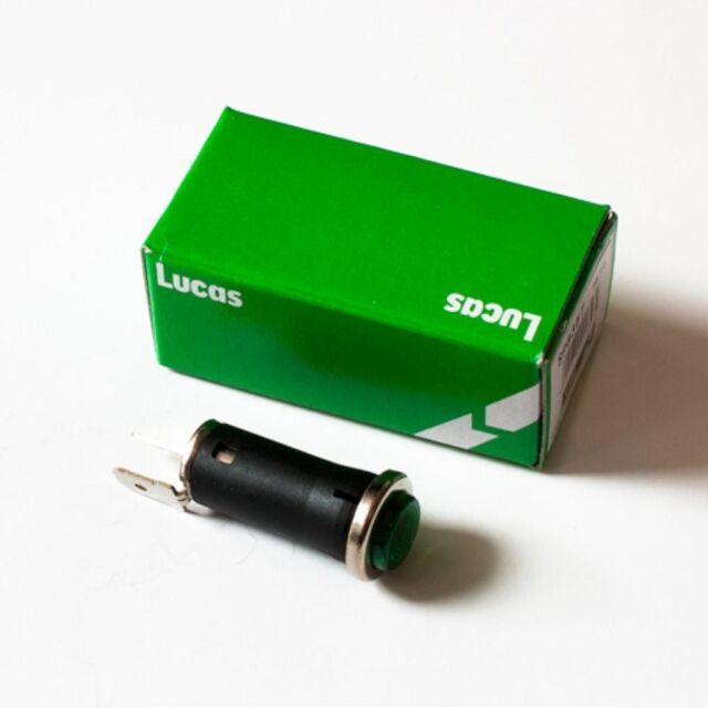 Lucas SPB355 Oldtimer Grün Warnleuchte / Licht