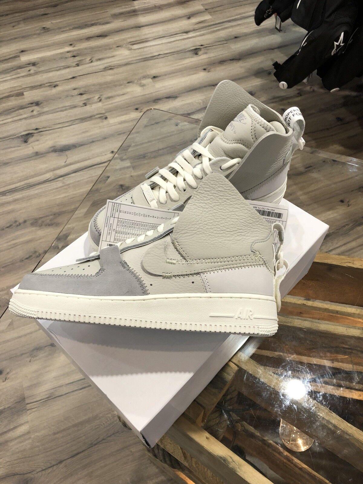 Nike Air Force 1 High x PSNY New York Grau Grey Ausverkauft 42 US 8,5