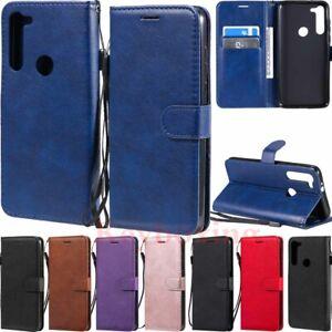 For Motorola Moto G Power 2020 G8 Power Lite Wallet Card Slot Leather Case Cover