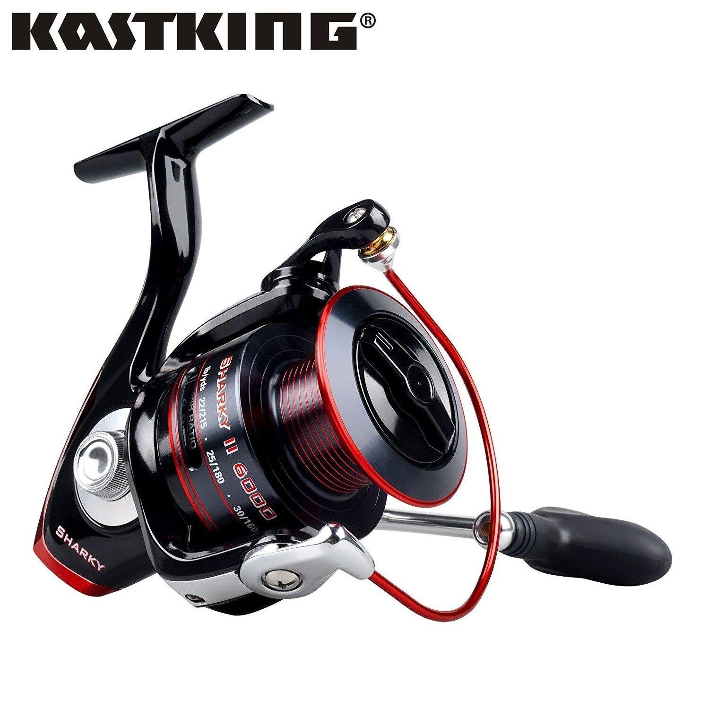 KastKing aggiornato SHARKY 'II Spinning Mulinello MATCH trascinamento frontale Reel Mulinello Carpa Luccio
