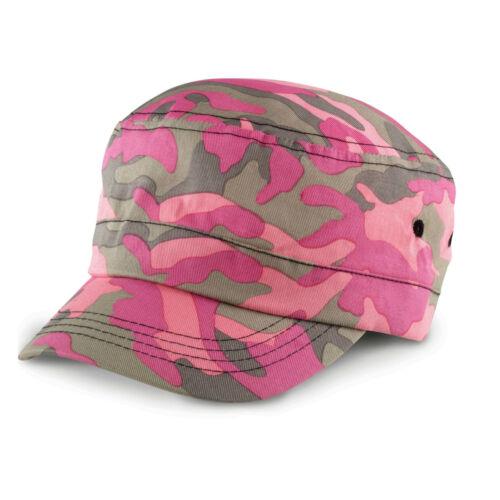 Camouflage Cap Military Army Camo Hat Urban Cadet Mens Womens Ladies Baseball