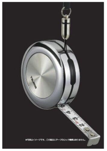 KR-30SS 3m TAJIMA  POCKET MEASURING TAPE WITH NECK STRAP SILVER