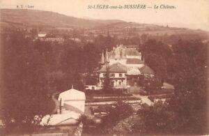 St-LEGER-sous-la-BUSSIERE-le-Chateau
