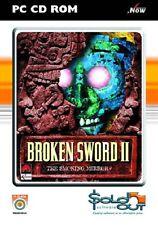 Espada rota II, juego PC CD-ROM.