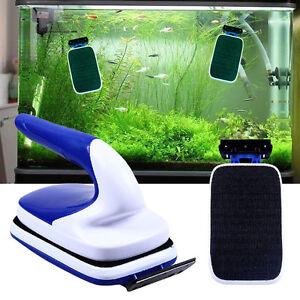 Strong-Magnetic-Aquarium-Tank-Algae-Glass-Cleaner-Scraper-Floating-Clean-Brush