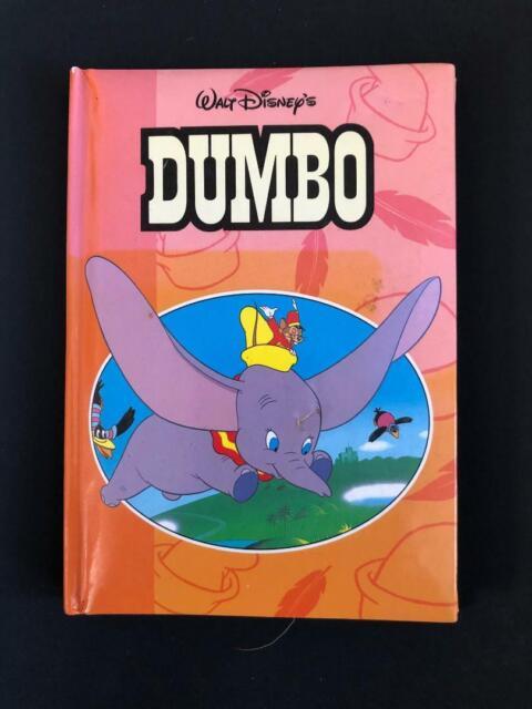 Walt Disney's Dumbo 1996 Small Padded book - VINTAGE