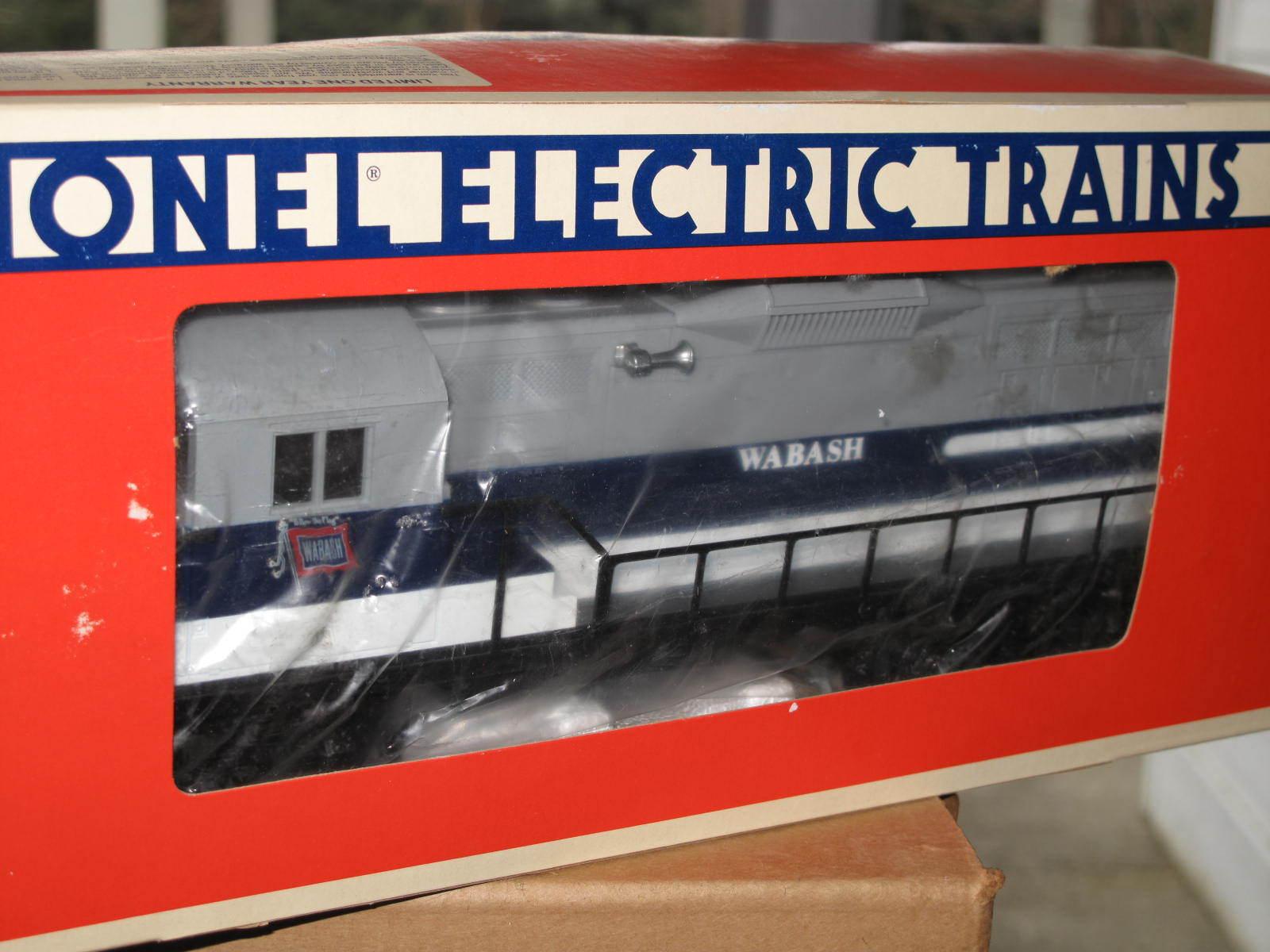 1985 Lionel 6-8587 Wabash Motor Diesel GP-9 L0648 Nuevo En Caja