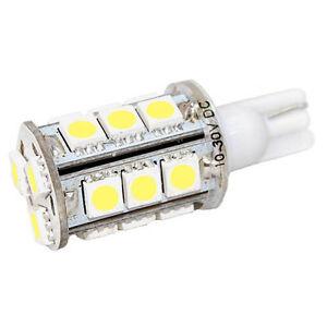 Hqrp-Blanco-T10-Cuna-18-SMD-5050-Bombilla-LED-192-168-194-W5W-2825-158