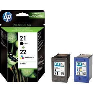 Original-HP-21-22-impresoras-cartucho-Deskjet-f370-f-375-f380-f2180-f2224-f2280f4180