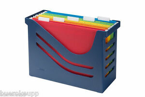 Jalema-office-box-Box-re-solution-Blue-incl-5-Folder-NEW