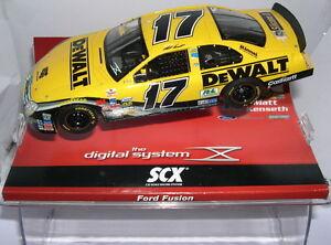 Scalextric Scx Digital Système 13430 Ford Fusion #17 Dewalt Mat Kenseth Mb