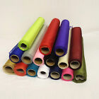 9 Metres Organza Fabric 40cm Wide Sheer Voile Roll Range of Colours