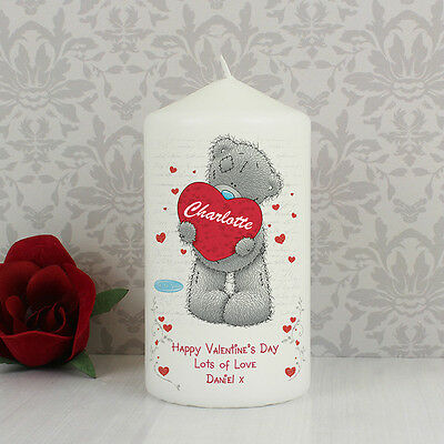 Me to You Teddy Heart Candle - Personalised Valentines Day Gift For Her and Him