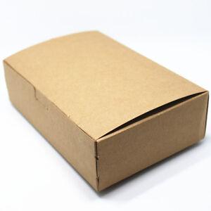 49345b03463 10 100Pcs Kraft Paper Favor Boxes Wedding Favors Party Packaging ...