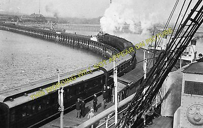 Immingham Dock Railway Station Photo Great Central Railway. 2