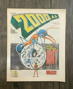 Bagged 2000 AD Comic Prog 71 - 1st Jul 1978 - Banned Issue - Ref 2K9
