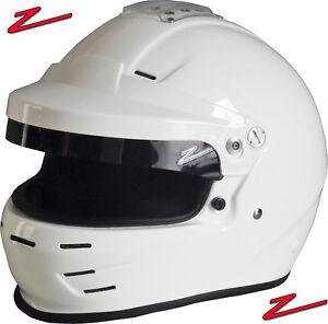 ZAMP-RZ-35-Rally-SA2015-Auto-Racing-Helmet-Open-Full-Face-Visor-Snell
