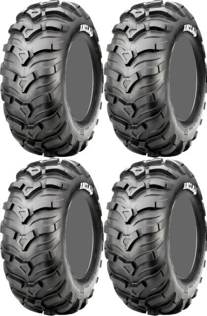 Four 4 CST Ancla ATV Tires Set 2 Front 25x8-12 & 2 Rear 25x10-12 C9311