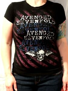 Avenged-Sevenfold-T-shirt-Tultex-Size-Junior-039-s-Small