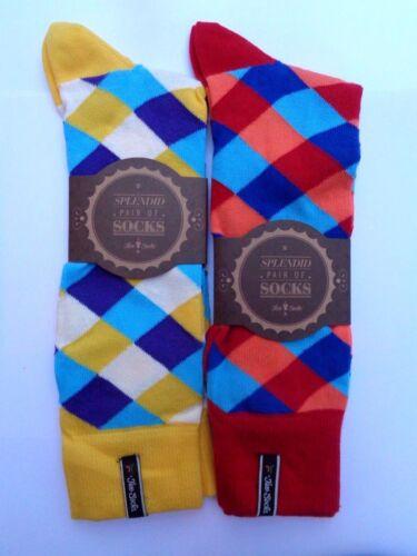 rrp £ 7.50 par paire. Nouveau homme//femme 2 x paires chaussettes taille UK4.5-7.5 ou UK8-12