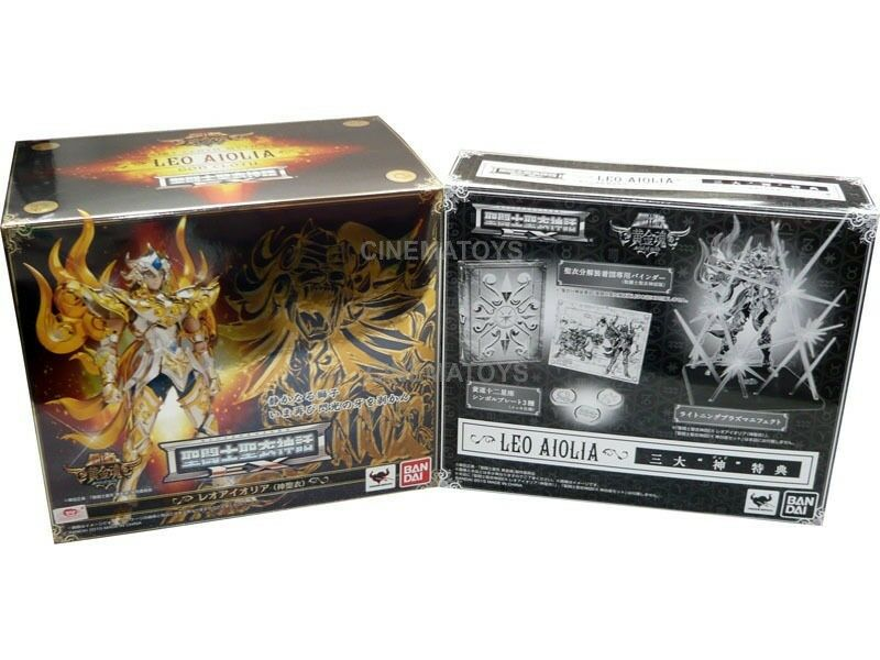 Saint Seiya Soul Of Gold Leo Leone EX Aiolia God Myth Cloth + BONUS 1° stampa