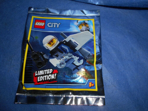 Lego city Polizist mit Jetpack Booster Polybag limited edition neu new