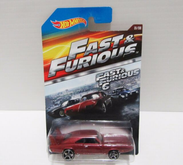 1969 Maroon Dodge Charger Daytona Hot Wheels Fast Furious 6 Hemi