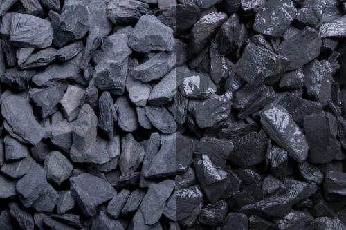 Edelsplitt Canadian Slate schwarz Splitt • verschiedene Körnungen • Zierkies