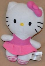 "6"" Hello Kitty Ballet Ballerina Pink Dance Plush Dolls Toys 2014 Sanrio Co., LTD"