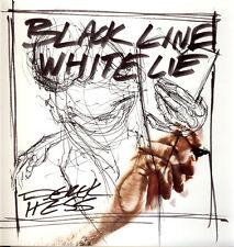 Derek Hess BLACK LINE WHITE LIE tpb NEW Tattoo Flash 1st Edition