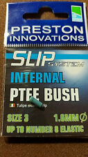 VARIOUS SIZES AVAILABLE PRESTON INNOVATIONS EXTERNAL PTFE BUSH SLIP SYSTEM