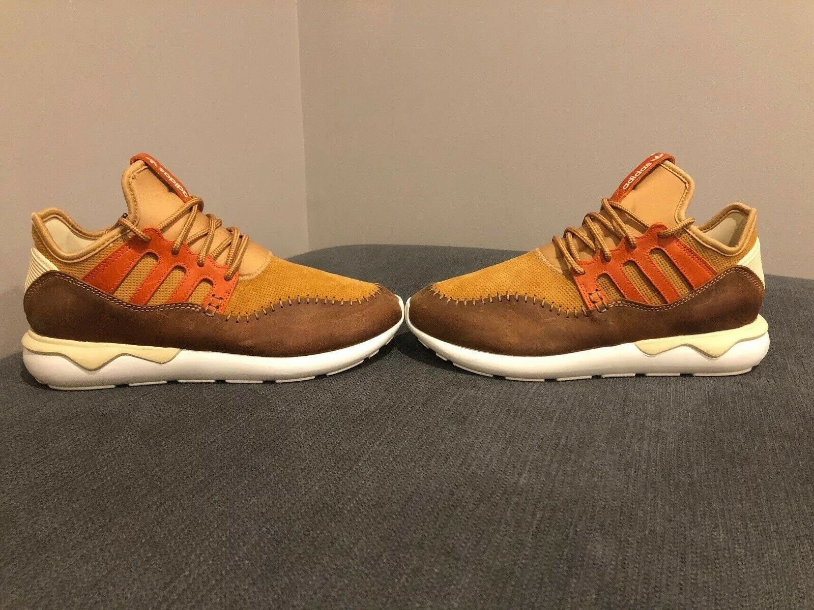 Adidas Tubular Moccasin Moc Runners shoes, Men's Size 10, RARE