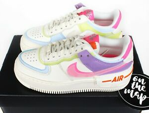 Details about Nike Air Force 1 AF1 W Shadow Pale Ivory Digital Pink CNY UK 3 4 5 7 10 US New