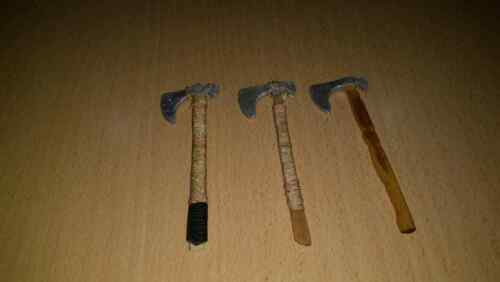 1//6 Scale Medieval Short Axe Set