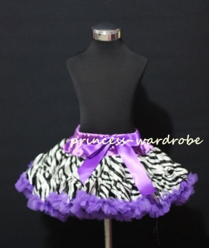 Wild Animal Multi-List Pettiskirt Skirt Pageant Party Dance Tutu Dress Girl 1-8Y