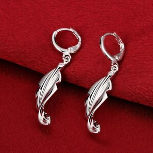 Ohrring-Blatt-Leaf-geschwungen-Damen-Durchzieher-pl-Sterling-Silber-CE646