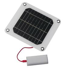 ECO 5W 5V photovoltaic solar panel for CellPhone PAD Tablet DIY charger battery.