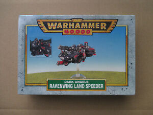 D10C13-LAND-SPEEDER-RAVENWING-WARHAMMER-40000-W40K-1997-SEALED