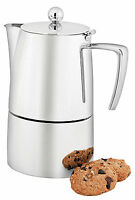 Avanti Art Deco Espresso Maker 10 Cup Induction Rrp $225.00 Coffee