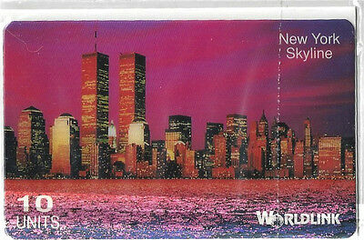 TK 50b Telefonkarte//Phonecard Worldlink 10u USA Flagge Purevalue Aufl 1000