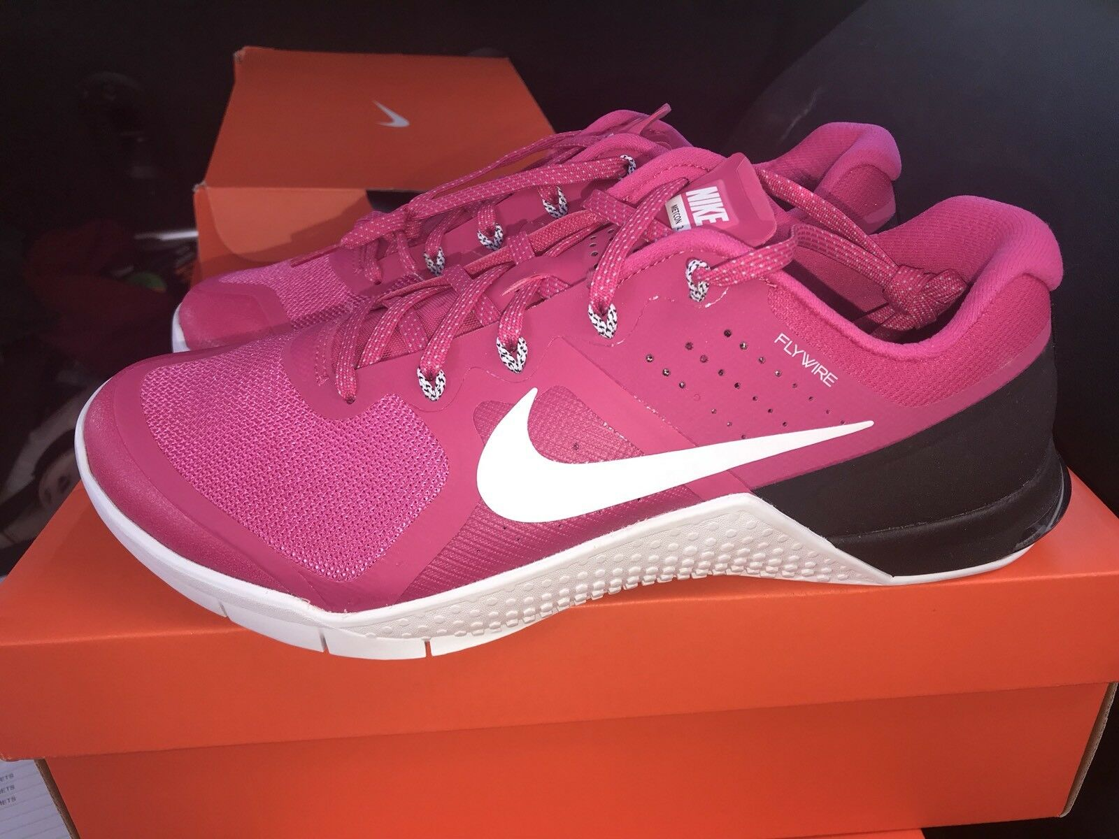 Seasonal price cuts, discount benefits DS Nike Metcon 2 TB Mens Pink Running Training Shoes Comfortable