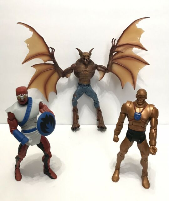 MAN BAT ROBOTMAN FORAGER Lot Of 3 DC Universe Classics Figure Wave 10 Complete