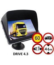 Navigationsgerät Drive 4.3 für LKW, PKW, BUS,WOHNMOBIL und CAMPER. EUROPA